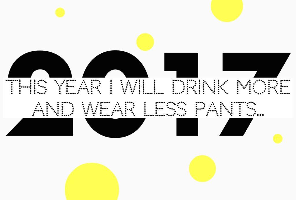 Das war 2016! Vorsätze für 2017!